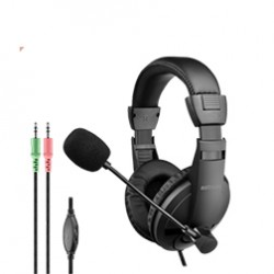 Astrum Hs120 Large Stereo Headphones with Mic