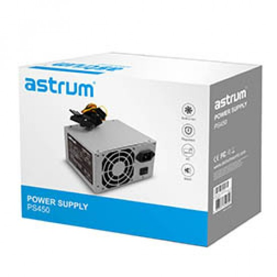 Power Supply ASTRUM 450 WATT 24-PIN 12V White