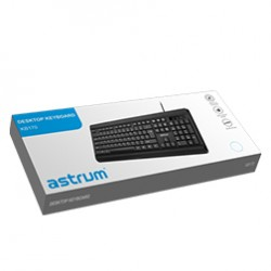 Astrum KB170-Classic Wired Keyboard