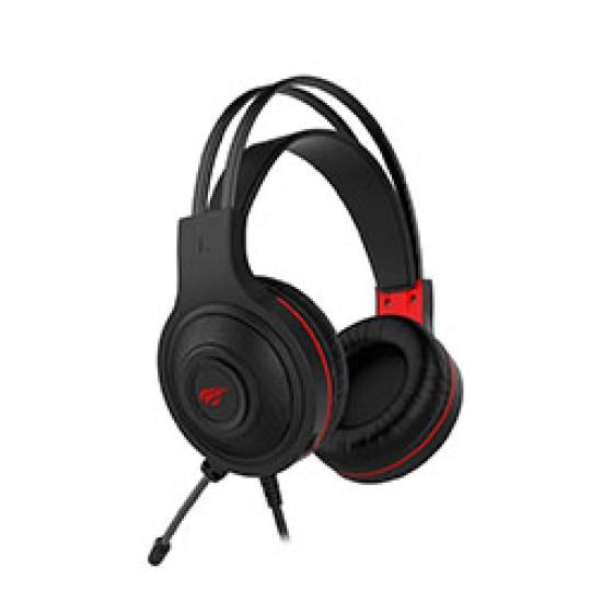 Havit H2011D Wired Black Gaming Headphone