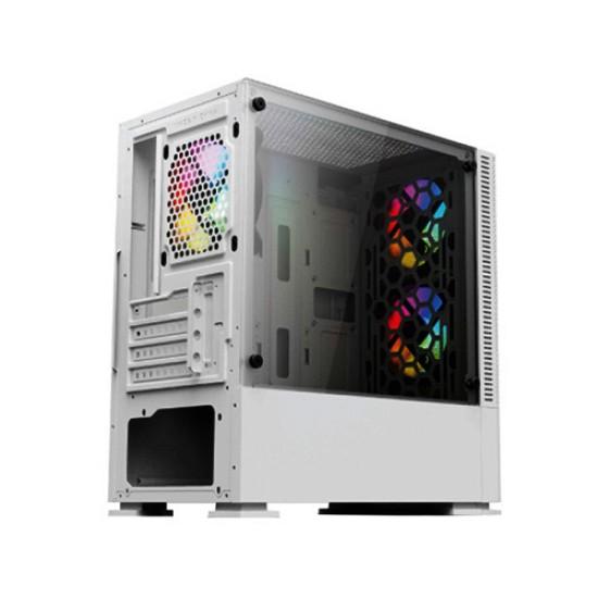 VALUE TOP VT-B701-W MICRO ATX GAMING CASE (WHITE)