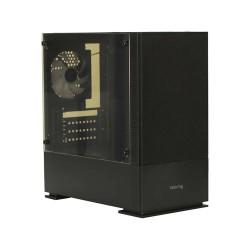 VALUE TOP VT-B701 MINI TOWER MICRO-ATX GAMING CASE (BLACK)
