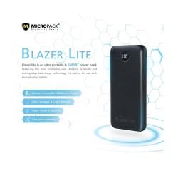 MicRopack BLAZER Lite PB-10KCL Dual Input Type C Powerbank - 10000mAh
