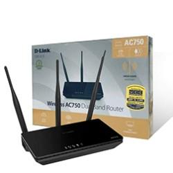 Wireless AC750 Dual Band Router DIR-819
