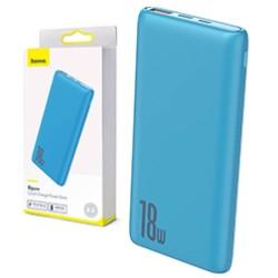Baseus N1PD Bipow Quick Charge Power Bank PD+QC 10000mAh 18W Blue